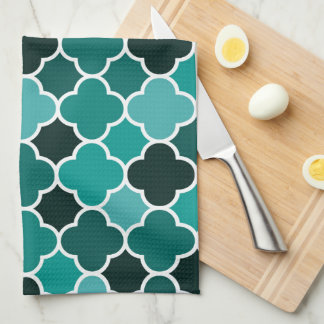 Moroccan pattern tea towel