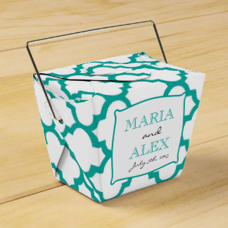Moroccan Pattern Wedding Favor Box Favour Boxes