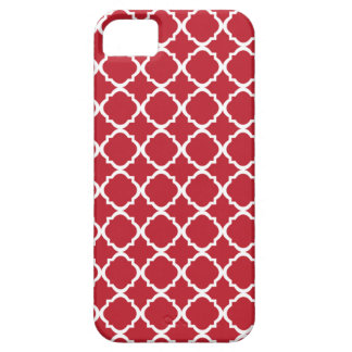 Moroccan Red pattern iPhone 5 Cover