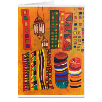 Moroccan Souk Card