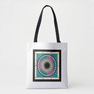 Moroccan Spiral Pattern Tote Bag