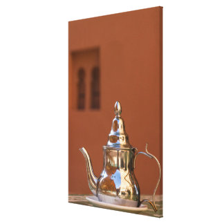 Moroccan Teapot Canvas Print