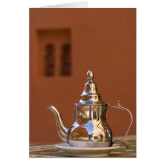 Moroccan Teapot Card