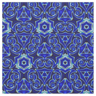 Moroccan Textile Pattern Fabric