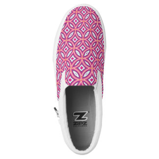 Moroccan Tile Stylish Patterned Slip-On Shoes