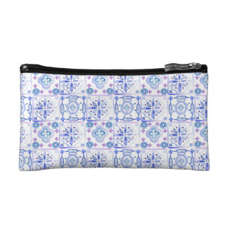 Moroccan Tiles Cosmetics Bag