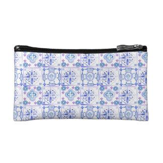 Moroccan Tiles Cosmetics Bag Cosmetics Bags