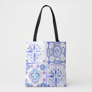 Moroccan Tiles Tote Bag