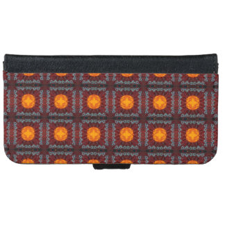 Moroccan Wall Hanging iPhone 6 Wallet Case