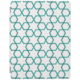 Moroccan weave pattern iPad cover