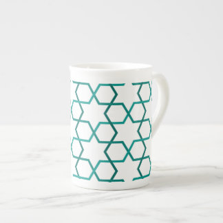 Moroccan weave pattern tea cup