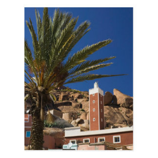 MOROCCO, Anti Atlas, TAFRAOUTE Area: ADAI, Red Postcard