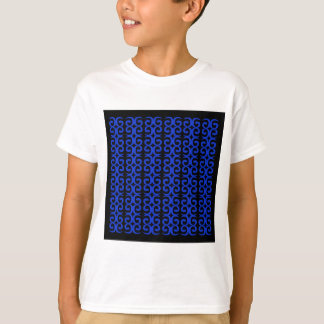 MOROCCO BLUE BLACK Fashion handdrawn Art T-Shirt
