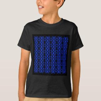 MOROCCO BLUE BLACK Fashion handdrawn Art T-Shirt