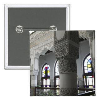 MOROCCO, Fes: Fes El, Bali (Old Fes), Riad Fes 15 Cm Square Badge