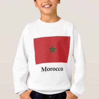 Morocco Flag And Name Sweatshirt