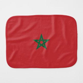 Morocco Flag Burp Cloth