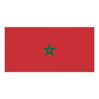 Morocco Flag Card