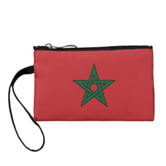 Morocco Flag Coin Purses