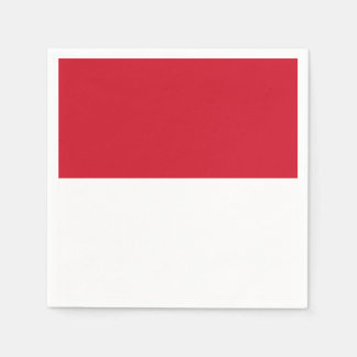 Morocco Flag Disposable Serviette