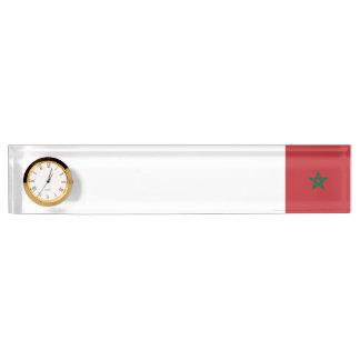 Morocco Flag Nameplate