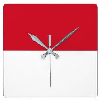 Morocco Flag Square Wall Clock