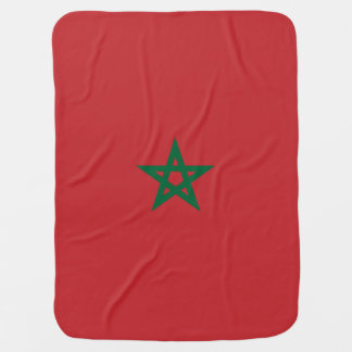 Morocco Flag Swaddle Blankets