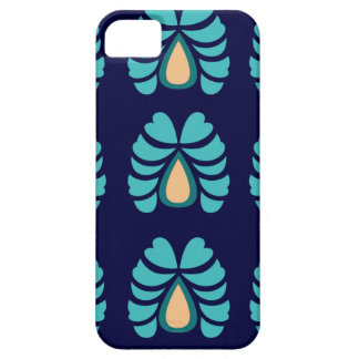 MOROCCO FOLK FLOWERS HAND PAINTED iPhone 5 COVER