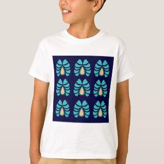 MOROCCO FOLK FLOWERS HAND PAINTED T-Shirt