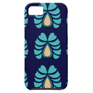 MOROCCO FOLK FLOWERS HAND PAINTED TOUGH iPhone 5 CASE