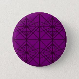 Morocco Geometric luxury Art / Crystal edition 6 Cm Round Badge