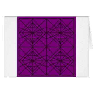 Morocco Geometric luxury Art / Crystal edition Card