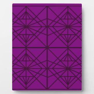 Morocco Geometric luxury Art / Crystal edition Plaque
