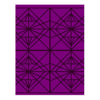 Morocco Geometric luxury Art / Crystal edition Postcard