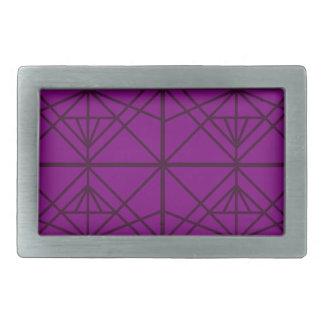 Morocco Geometric luxury Art / Crystal edition Rectangular Belt Buckles