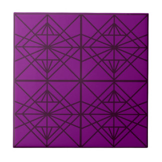 Morocco Geometric luxury Art / Crystal edition Tile