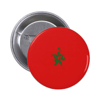 Morocco Gnarly Flag Buttons