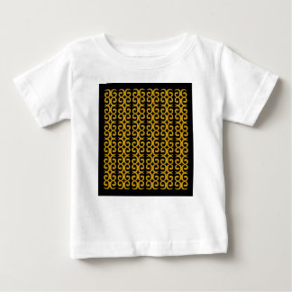MOROCCO LUXURY GOLD ETHNO SPIRALS BABY T-Shirt