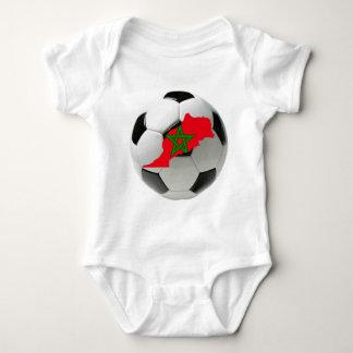 Morocco national team baby bodysuit