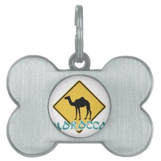 Morocco Pet Tag