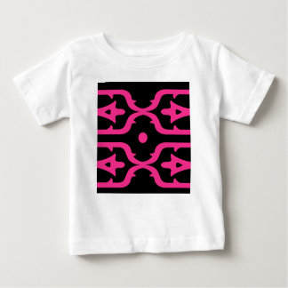 MOROCCO PINK BLACK ETHNO SUMMER BABY T-Shirt