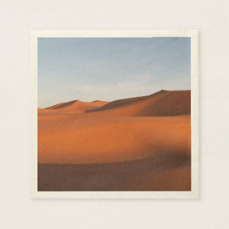 Morocco sand desert, northwestern Africa Paper Napkin