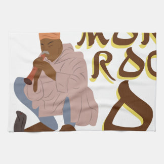 Morocco Snake Charmer Kitchen Towel