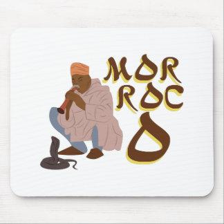 Morocco Snake Charmer Mouse Pad