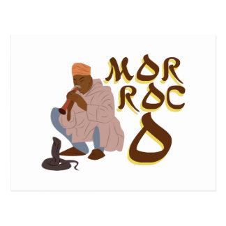 Morocco Snake Charmer Postcard