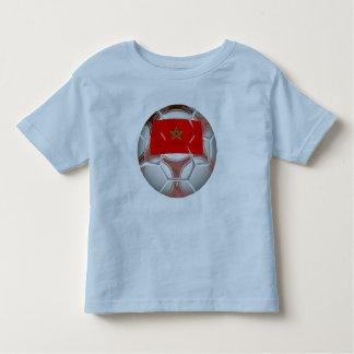 Morocco Soccer Ball Toddler T-Shirt