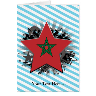 Morocco Star Card