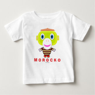 Morocko-Cute Monkey Baby T-Shirt