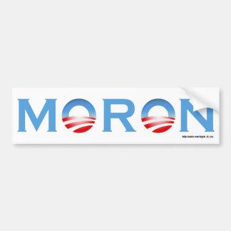 Moron Bumper Sticker
