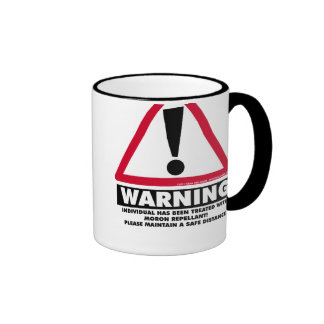 Moron Repellant Mug 1
